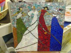 Dancing Women Mosaic Nuran | Flickr - Photo Sharing!