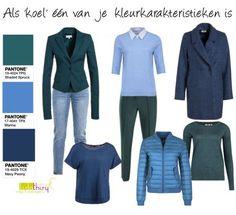 Als 'koel' één van je kleurkarakteristieken is welke #kleurencombinaties kun je dan maken met de modekleuren voor deze herfst-winter 2017? Lees mijn blog voor de tips  #trendkleuren2017