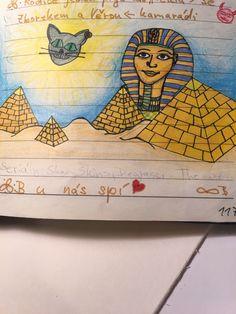 Faraon. Egypt. Bullet journal.