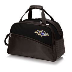 The Baltimore Ravens Stratus Cooler by Picnic Time is a stylish soft sided cooler with adjustable interior compartments, the Stratus is great as a cooler or day to day tote.