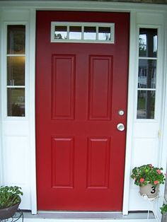 The 8 Best Red Exterior House Paints | Exterior, House paint ...
