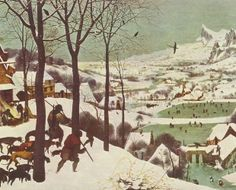 Охотники на снегу - Питер Брейгель Старший