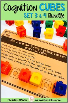 This set of 40 interactive logic puzzles will have kids begging for more! Easy to use, these brain teasers are a great math center that will keep kids engaged while thinking logically. These puzzles are perfect to help your 3rd and 4th grade students learn to persevere through challenging tasks. mrswintersbliss.com #growthmindset #logicpuzzles  #3rdgrademath #4thgrademath