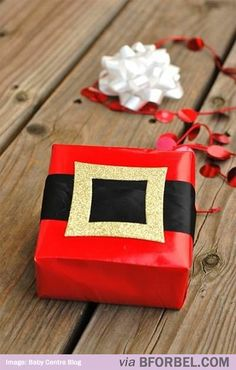 b for bel: Cutest Christmas Gift Wrap