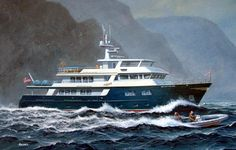 All Ocean Overing Explorer Big Yachts, Super Yachts, Sport Fishing Boats, Kayak Fishing, Trawler Yacht, Explorer Yacht, Expedition Yachts, Boat Storage, Yachts