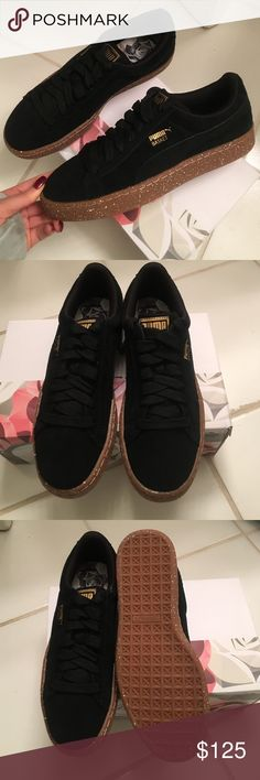 🔥BRAND NEW🔥 Puma suede sneakers I LOVE THESE SHOES! Ordered the wrong size and cannot return :( they are a 7.5 men/ 40 EURO  never worn, comes in original box !~~~~~~~~~~~~~~~~~~~~~~~~~~~~~~~~~~~~~~~~~💰PRICE IS FIRM💰 ❌NO OFFERS❌ 🚫NO TRADES🚫 Puma Shoes Sneakers