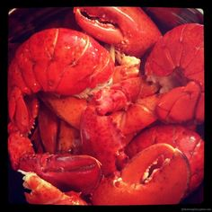 Fresh Atlantic Ocean Lobster Boil.