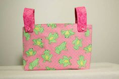 """bike and/or bunk bed bag for georgia.  see my """"i want . . . fabrics"""" for inspiration.  her bike is white with hot pink, lime green, and purple peace signs, so those colors would work for a bike bag."""