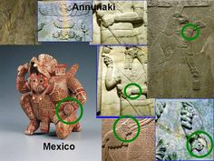 Modern watch appears in Hieroglyphs of the Sumerian Annunaki, Mayans, & Incans of the Ancient Americas; coincidence?