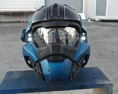 Custom Fan-made Halo 5 Noble Replica Helmet - Wearable - Padding - Fits up to Heads -, Fan Made Halo 3, Cosplay Armor, Cosplay Costumes, Cosplay Helmet, Anime Cosplay, Cosplay Ideas, Taktischer Helm, Infantry Marines, Halo Armor