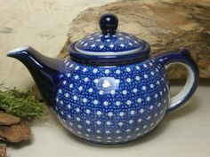 Blue Coffeepot