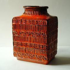 Bay Keramik 70 20 Vase Bodo Mans West German Vintage Vases, Vintage Pottery, Vintage Ceramic, Pottery Bowls, Ceramic Pottery, Stig Lindberg, Hand Built Pottery, Ceramics Projects, Ceramic Design