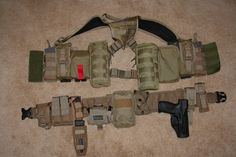 Warbelt Harness LBE System. ( Customized for personal kit,)