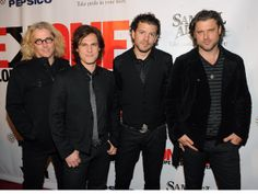 Dean Roland Photos - Recording artists Ed Roland, Joel Kosche, Will Turpin, and Dean Roland of Collective Soul attend the ONEXONE fundraiser at Capitale on October 2010 in New York City. Collective Soul, Southern Gentleman, Family Boards, Matt Damon, Photo L, Great Bands, Dean, New Look, How To Look Better