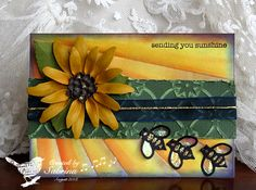 WT440 Beeline for the Sun by Cook22 - Cards and Paper Crafts at Splitcoaststampers