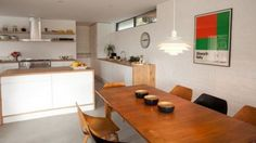 Lizard Peninsula House - Grand Designs. The kitchen.
