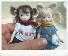 Small porcelain dolls by Sun Joo Lee https://www.facebook.com/szreeart#!/szreeart