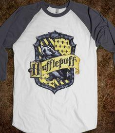 Hufflepuff Crest- I reeeeaaaalllly want this shirt!!