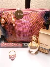 Jewelry~Perfume~Makeup and a cute bag to put it in!! (FREE SHIPPING) $28