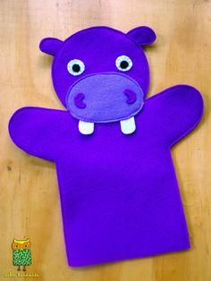 ideku handmade: hand puppets are coming! ideku handmade: hand puppets are coming! Glove Puppets, Felt Puppets, Puppets For Kids, Felt Finger Puppets, Animal Hand Puppets, Puppet Patterns, Doll Patterns, Puppet Making, Operation Christmas Child