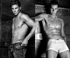 Rafael Nadal, Armani Spring/Summer 2011 campaign. I guess he outgrew his pirate pants.
