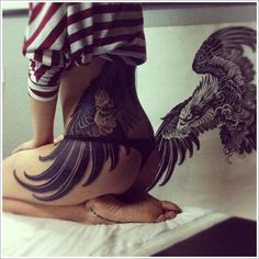 35 Attention Grabbing Eagle Tattoo Designs- Most of these are amazing, some are lacking.