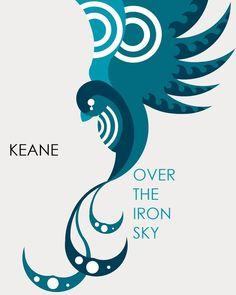 Keane album art by Sanna Annukka