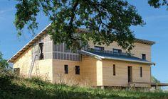 Découvrez les plans de cette maison bois sur www.construiresamaison.com >>>