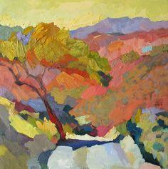 "Larisa Aukon at Mirada Fine Art, Lone Tree, Original Oil on Panel, 18"" x 18"""