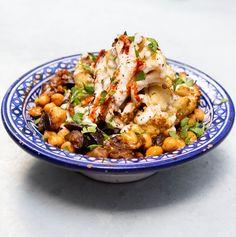 Harissa Tahini Cauliflower