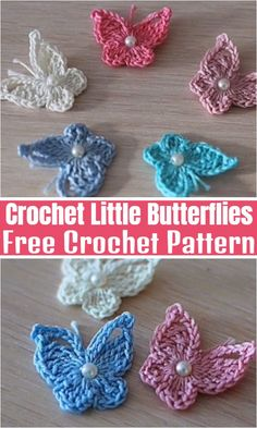 Interesting Free Crochet Butterfly Patterns To Try This Season – All Crochet Pattern