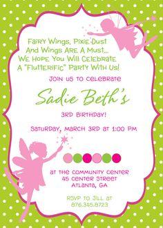 Fairy birthday party invitation magical fairy by telisavl5 on etsy fairy princess birthday party invitation 800 via etsy filmwisefo