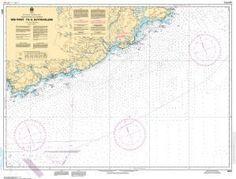 CHS Nautical Chart 4374: Red Point to/à Guyon Island