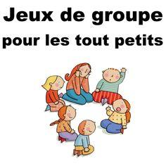 4 jeux de groupe pour les enfants de 1 à 3 ans...