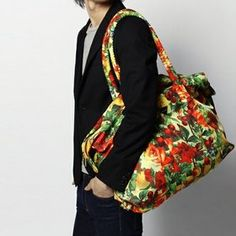 [Joyrich] CITRUS RUSH DUFFLE BAG (YELLOW)