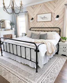 Master Room, Master Bedroom Makeover, Farmhouse Master Bedroom, Farmhouse Bedroom Furniture, Master Suite, Dream Bedroom, Home Decor Bedroom, Bedroom Ideas, Master Bedroom Decorating Ideas