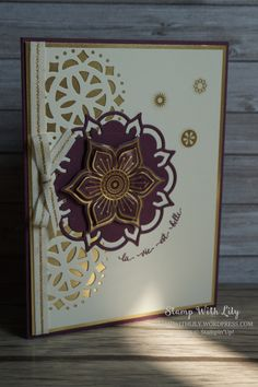 Collection Palais Oriental de Stampin'Up! (Eastern Palace Suite from Stampin'Up!)