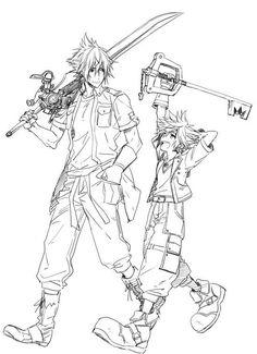 Sora & Noctis