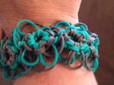 Flower Bracelet-Makena's Rainbow Loom creation