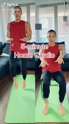 Gym Workout For Beginners, Gym Workout Tips, Fitness Workout For Women, Sport Fitness, Easy Workouts, Workout Videos, Beginners Cardio, Wall Workout, Senior Fitness
