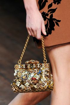 Dolce & Gabbana Fall/Winter 2014 Details, MFW.