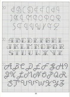 1000 images about abc point de piqure on pinterest alphabet cross stitch alphabet and back. Black Bedroom Furniture Sets. Home Design Ideas