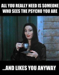 Find images and videos about funny and the addams family on We Heart It - the app to get lost in what you love. Addams Family Quotes, Addams Family Morticia, Morticia Adams, Funny Quotes, Funny Memes, Hilarious, Bff Quotes, Friend Quotes, Qoutes