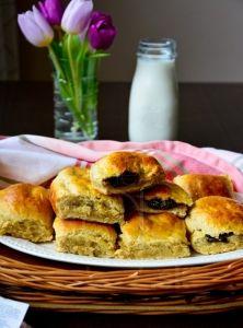 Špaldové buchty s domácim slivkovým levárom French Toast, Pancakes, Paleo, Low Carb, Cooking, Breakfast, Fit, Basket, Kitchen
