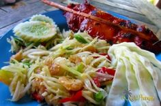 Som Tam – Rezept für scharfen Papaya Salat   My Koh Phangan, Thailand