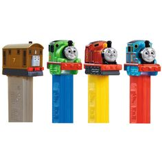You just can't beat these cute Thomas the Tank Pez Dispensers. They're inexpensive, classic, and tasty.