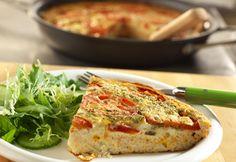 Campbell's Kitchen: Tomato-Feta Frittata