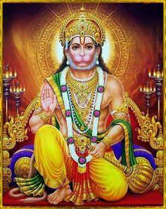 Hanuman is also one of the main dieties of hinduism. Hanuman Photos, Hanuman Images, Krishna Images, Shiva Shakti, Shiva Art, Hindu Art, Hanuman Jayanthi, Hanuman Tattoo, Hanuman Ji Wallpapers