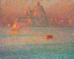 Henri Le Sidaner, Mattina d'inverno a Venezia