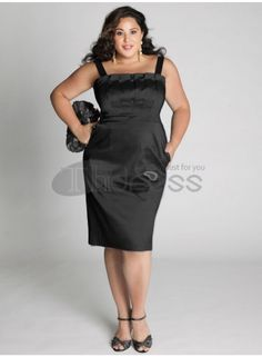 Plus Size Evening Dresses-plus size evening dress Cybelle Cocktail Dress in Black